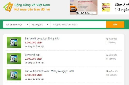 Vé trận Việt Nam vs Malaysia loạn giá, đã có người hô lên gấp... 10 lần - Ảnh 1.