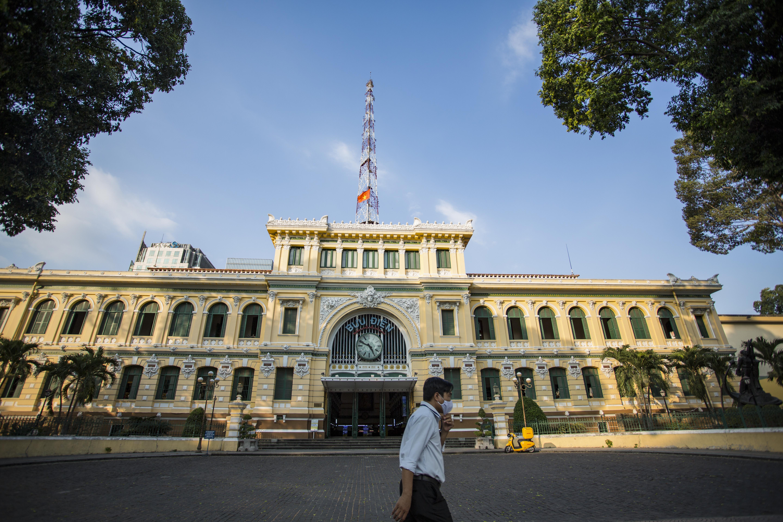 Ngắm Sài Gòn đẹp và yên bình trước thời điểm cách ly toàn xã hội trong 15 ngày - Ảnh 11.
