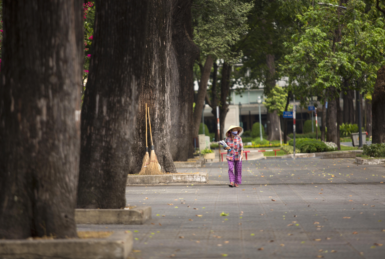 Ngắm Sài Gòn đẹp và yên bình trước thời điểm cách ly toàn xã hội trong 15 ngày - Ảnh 8.