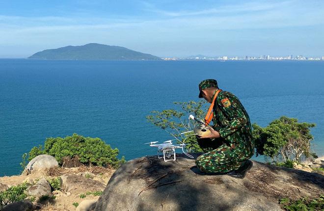 Chùm ảnh: Sử dụng thiết bị trên không, quyết tìm dấu vết Triệu Quân Sự trên núi Hải Vân - Ảnh 7.