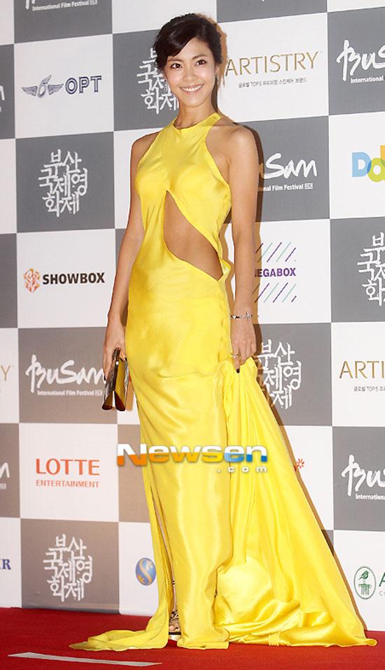 Ngắm mỹ nhân Hàn tỏa sáng trên thảm đỏ LHP Busan