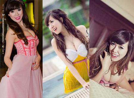 Những hình ảnh đẹp, gợi cảm của Hot girl Mai Thỏ