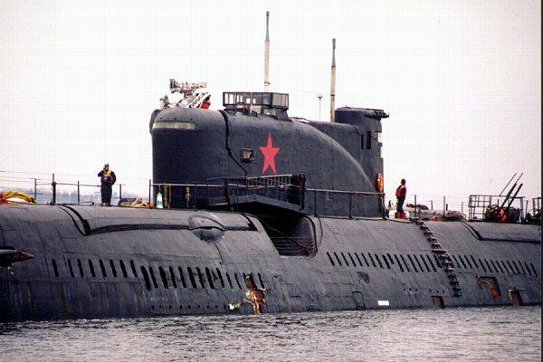 Tàu ngầm Nga (ảnh minh hoạ)