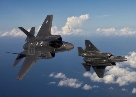 Chiến đấu cơ tàng hình đa năng F-35 của Mỹ.
