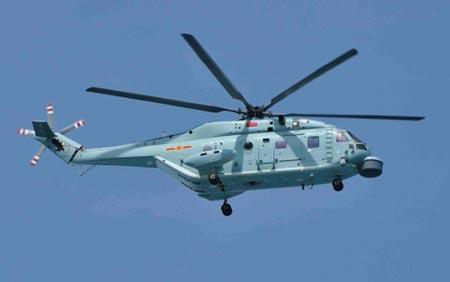 Trực thăng chống ngầm thế hệ mới nhất Z-18F của Trung Quốc