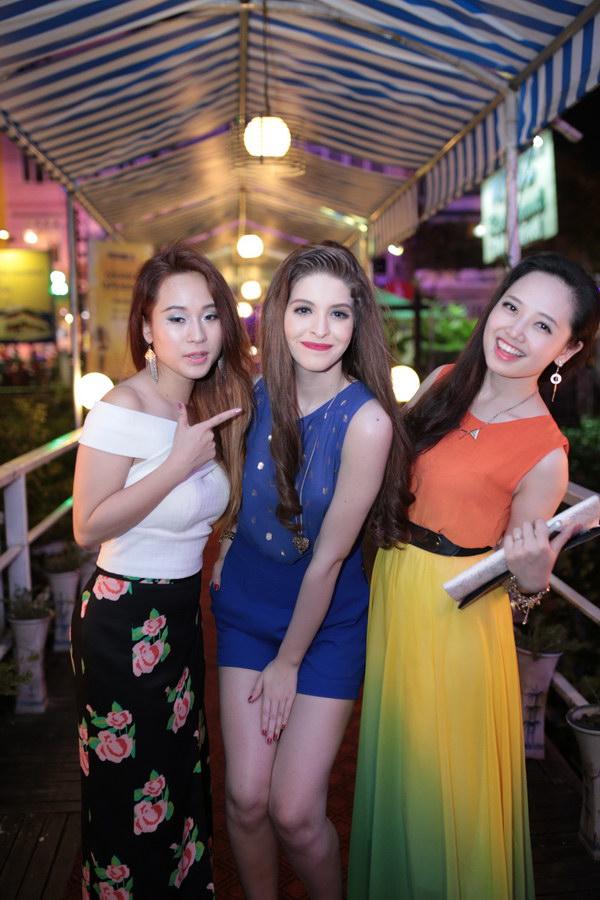 Bộ 3 Diễm Hằng, Andrea, MC Ngọc Trang.