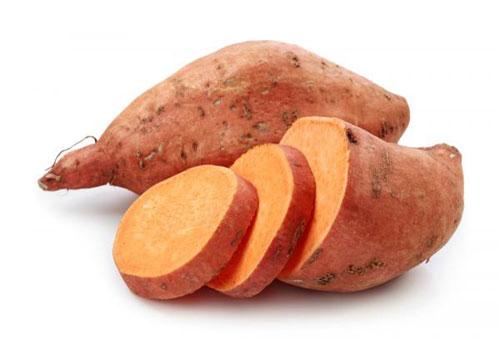 Chất carotenoids trong khoai lang có chức năng điều hòa đường huyết.