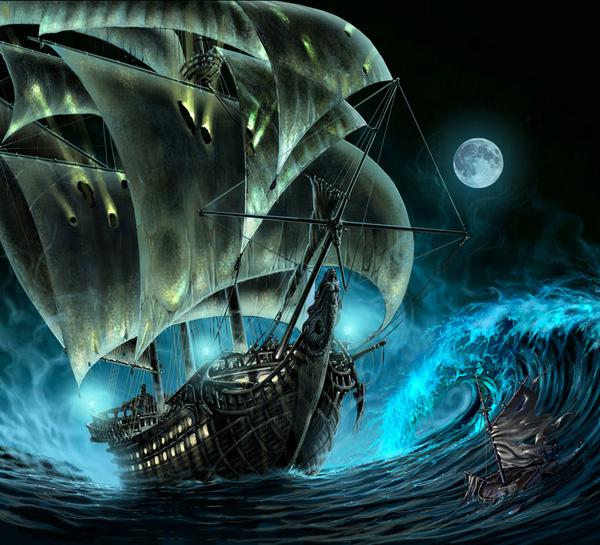 """Truyền thuyết về con tàu """"Người Hà Lan bay"""""""