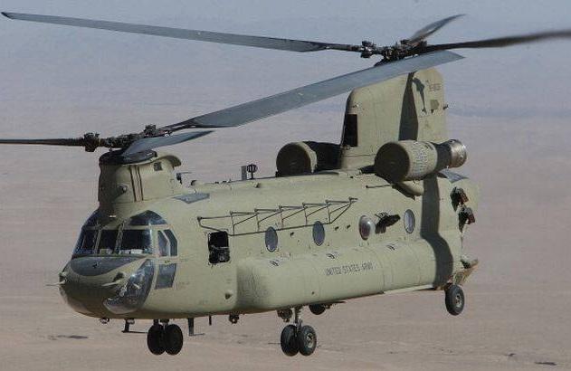 Trực thăng CH-47F Chinook thực hiện nhiệm vụ tại Afghanistan. Ảnh: Times of India