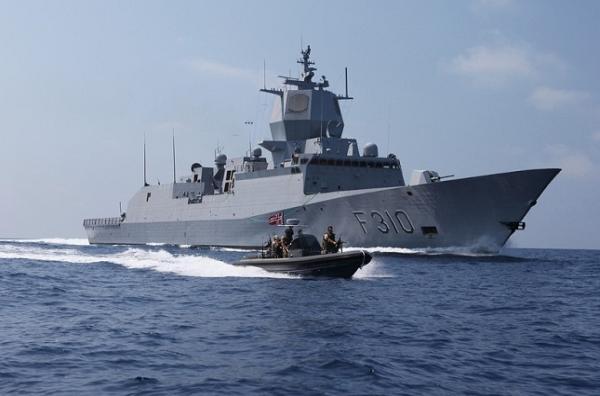 Khu trục hạm Aegis mang số hiệu F-310 Fridtjof Nansen của Hải quân Na Uy