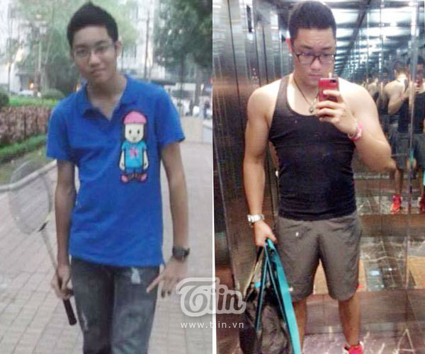 Thành Long lột xác hoàn toàn sau 1 năm tập gym.