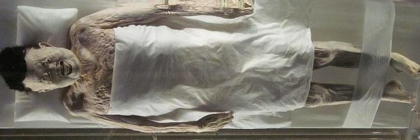 Xác ướp 2000 năm vẫn còn khá nguyên vẹn