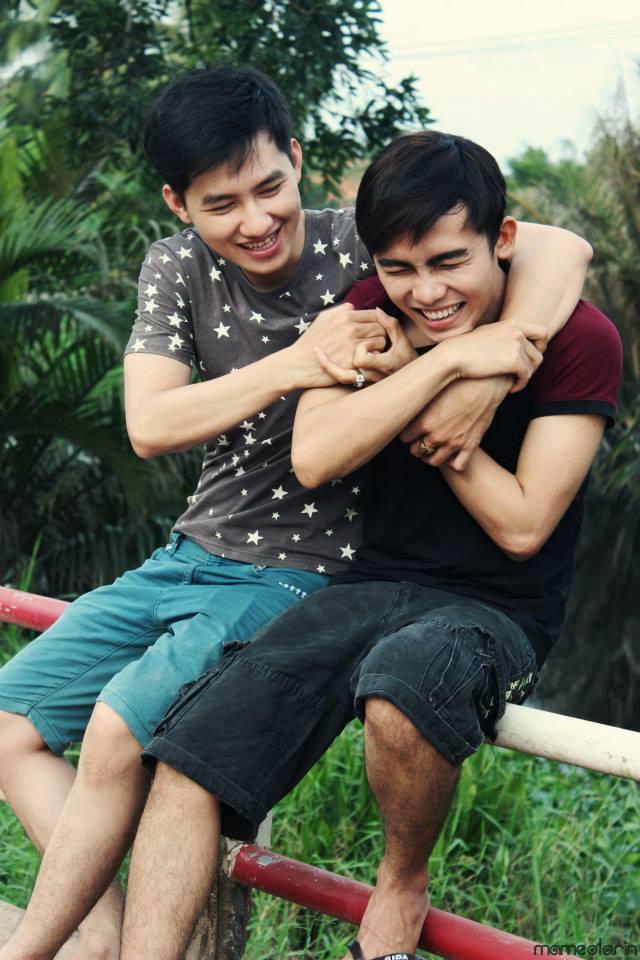 Trọng Hữu (phải) và Nguyễn Hiệp (trái) là cặp đôi đồng tính Sài Thành nhận được nhiều sự quan tâm.