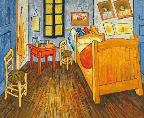 Họa phẩm Phòng ngủ của Van Gogh