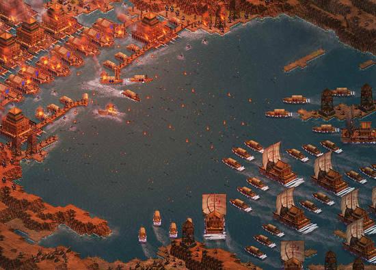 Các nhà phân tích cho rằng, việc toàn bộ hạm đội Tào Tháo bị hỏa thiêu là điều không thể xảy ra.