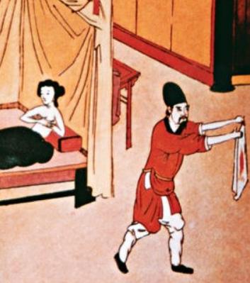 """Trinh tiết và đạo đức của người phụ nữ thời xưa đều bị đặt vào """"một tấm màng mỏng manh""""."""