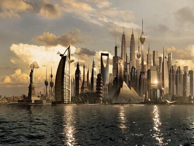 Các thành phố tương lai sẽ toàn những người sống tới 5000 năm?