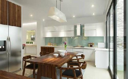 Nhà bếp kỵ nơi để gió - Ảnh: ASPACE