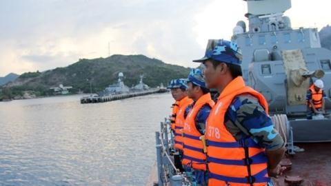 Tàu tên lửa Molniya của Hải quân Việt Nam.