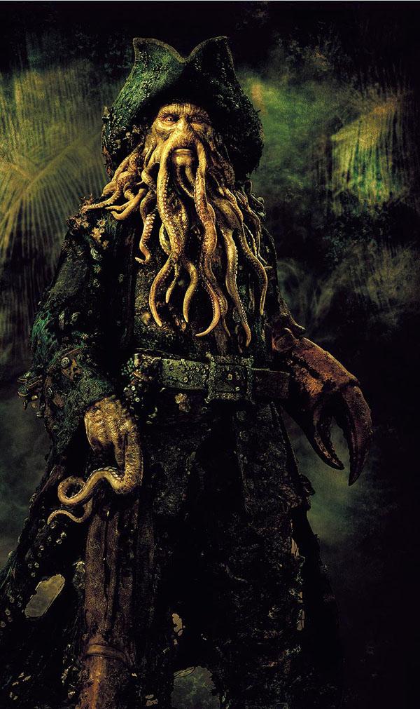Hình mẫu thuyền trưởng Davy Jones trong Cướp biển vùng Ca-ri-bê được truyền cảm hứng từ thuyền trưởng Van der Decken.