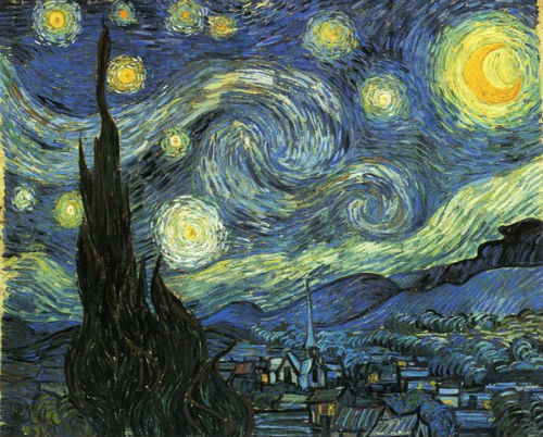 Bức Starlight Night được Van Gogh vẽ trong một nhà thương điên ở Saint-Remy-de-Provence