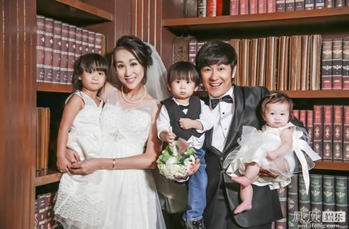 Gia đình của Trần Hạo Dân - Tưởng Lệ Sa.