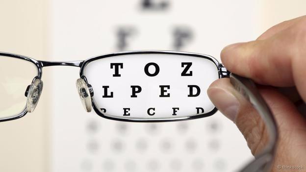 Khả năng phân biệt các điểm đen trắng tách biệt trong bài kiểm tra thị lực