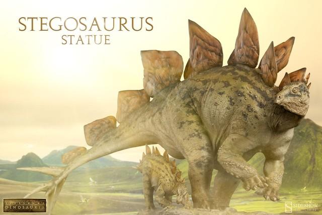 Loài khủng long ăn cỏ Stegosaurus, dễ nhận ra với những cái vảy sừng lớn trên lưng.