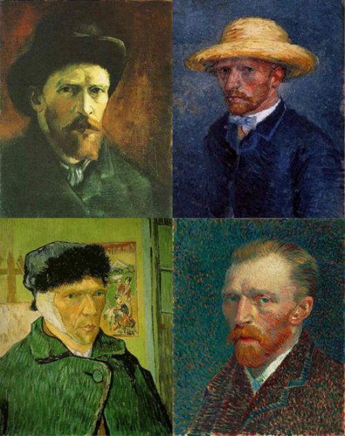 Loạt tranh chân dung tự họa của Van Gogh