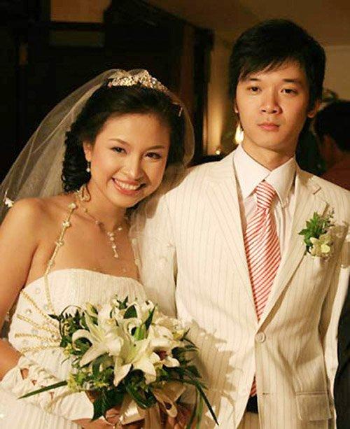 Thanh Vân và Tường Linh trong ngày cưới