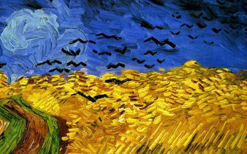 Họa phẩm Cánh đồng lúa mì và bầy quạ là bản di chúc hội họa cuối cùng của Van Gogh