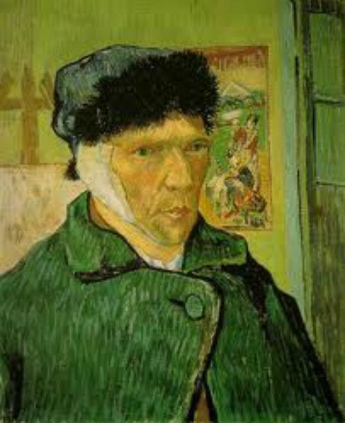 Bức tự họa với chiếc tai bị cắt của Van Gogh