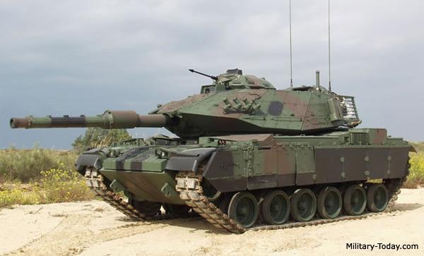 Xe tăng chiến đấu chủ lực Sabra MkII