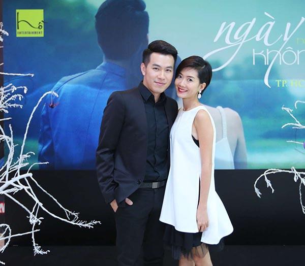 Trong lần phát hành MV mới, Hồ Trung Dũng cũng hội ngộ Thùy Linh - cô diễn viên không chuyên nhưng diễn rất tình cảm trong Ngày không em.