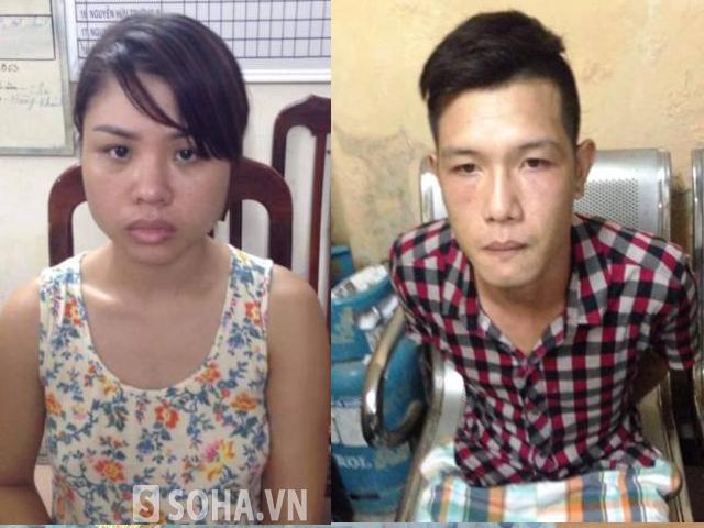 Đôi vợ chồng trẻ bị 141 bắt khi vừa ăn trộm tài sản tại một cửa hàng quần áo