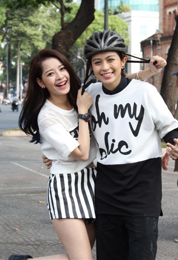 Sau khi chia tay Cường Seven vào đầu năm 2014, Chi Pu tiếp tục dính vào nghi án có tình cảm đồng tính với Gil Lê.