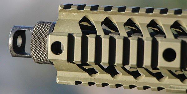 Lưới nhôm cách nhiệt bao quanh nòng súng