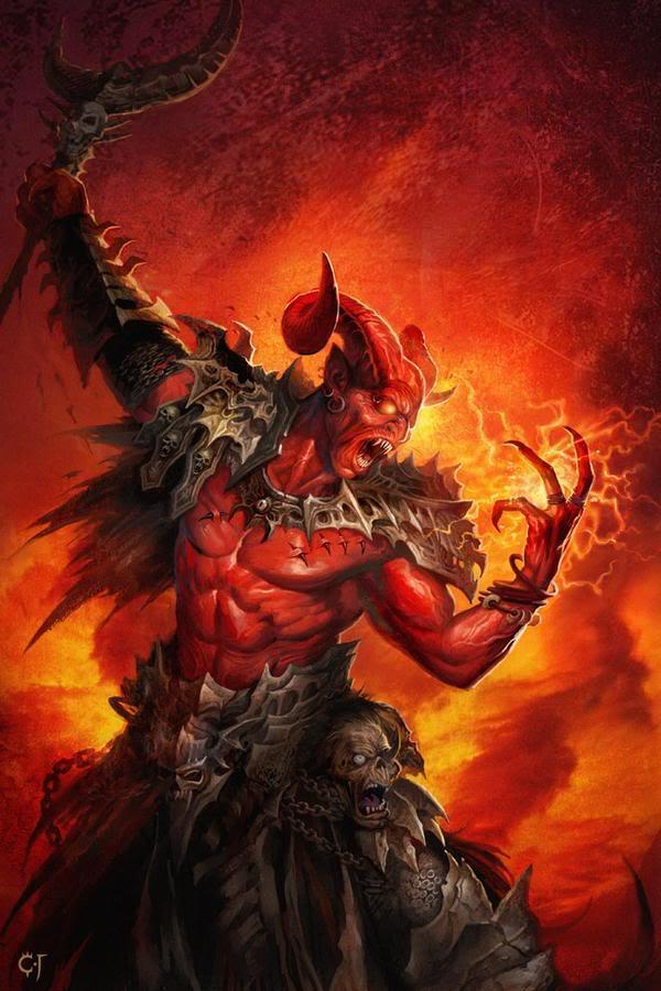 Một bên là Satan và 1/3 thiên thần nổi loạn với một bên là thiên thần  Michael cùng các thiên thần trung thành với Chúa.