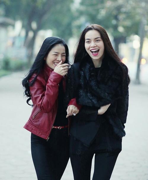 Từng là chị em thân, Quyên và Hà đã nghỉ chơi 