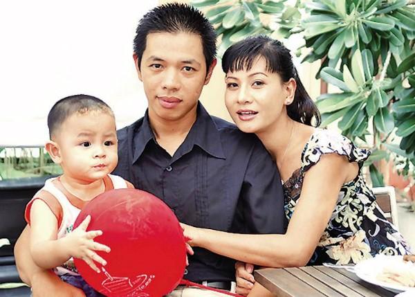 Gia đình Cát Phượng - Thái Hòa thuở còn bên nhau.