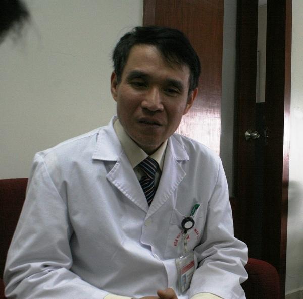 Th.s, Bác sĩ chuyên khoa I Phạm Tuấn Dương – Phó Viện trưởng Viện Huyết học Truyền máu Trung ương.