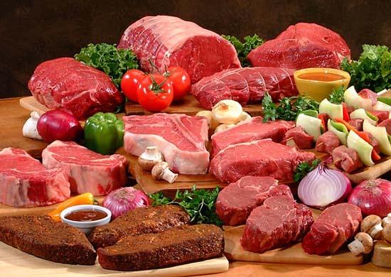 Không nên ăn nhiều thịt đỏ.