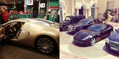 Trên Instagram, hội con nhà giàu Dubai giới thiệu: Chúng tôi đại điện chonhững người tuyệt vời nhất ở Dubai. Xe hơi, thời trang, tài sản,phong cách sống, giấc mơ Dubai!.