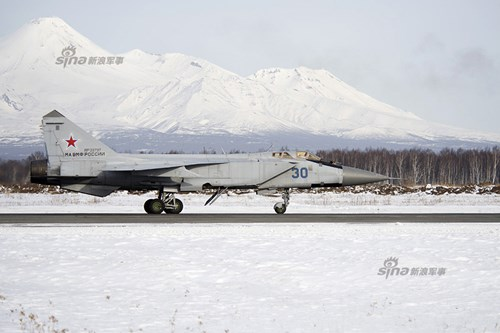 Liên Xô/Nga đã sản xuất tổng cộng hơn 500 MiG-31 các kiểu loại cho đến khi dừng sản xuất loạt vào năm 1994.