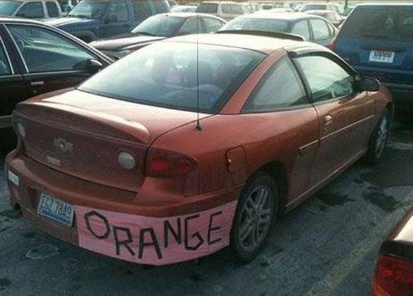 16. Khi chủ nhân lười đi sơn lại xe.