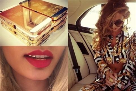 Từ quần áo, điện thoại, xe hơi... đến cả răng cũng được mạ vàng để thể hiện đẳng cấp.