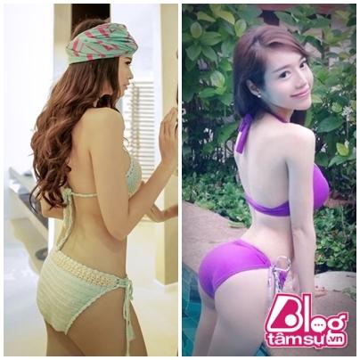 Nếu xét riêng thì Trương Quỳnh Anh cũng khá đẹp và gợi cảm, tuy nhiên nếu đặt cạnh Elly Trần thì lại bị lép vế đôi chút