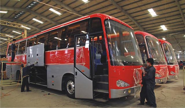 THACO cũng kỳ vọng sẽ tiến tới xuất khẩu xe bus thay vì chỉ kinh doanh trong nước