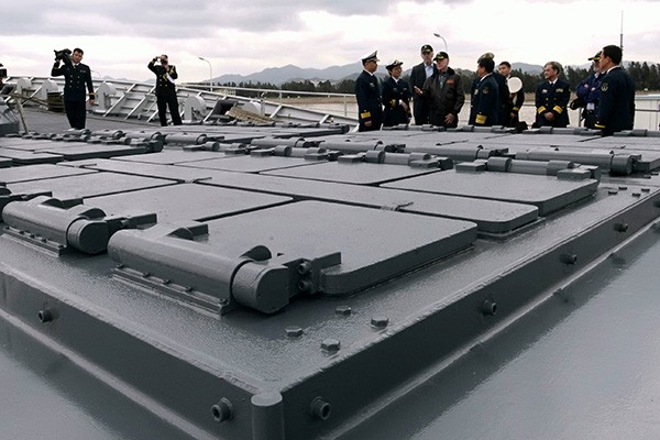 Cải tiến quan trọng nhất trên phiên bản mới là trang bị hệ thống phóng thẳng đứng VLS có thiết kế tương tự hệ thống Mk 41 của Mỹ. Ảnh: Naval Technology