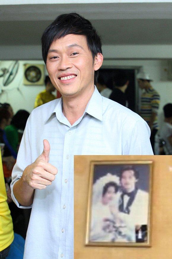 Hoài Linh và ảnh cưới hiếm hoi vô tình bị lộ